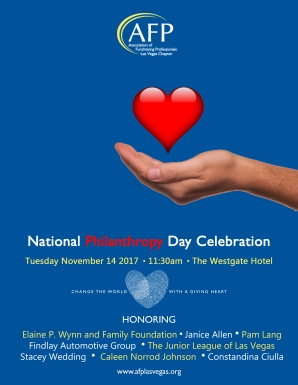 AFPLV National Philanthropy Day 2017 flyer - FINAL